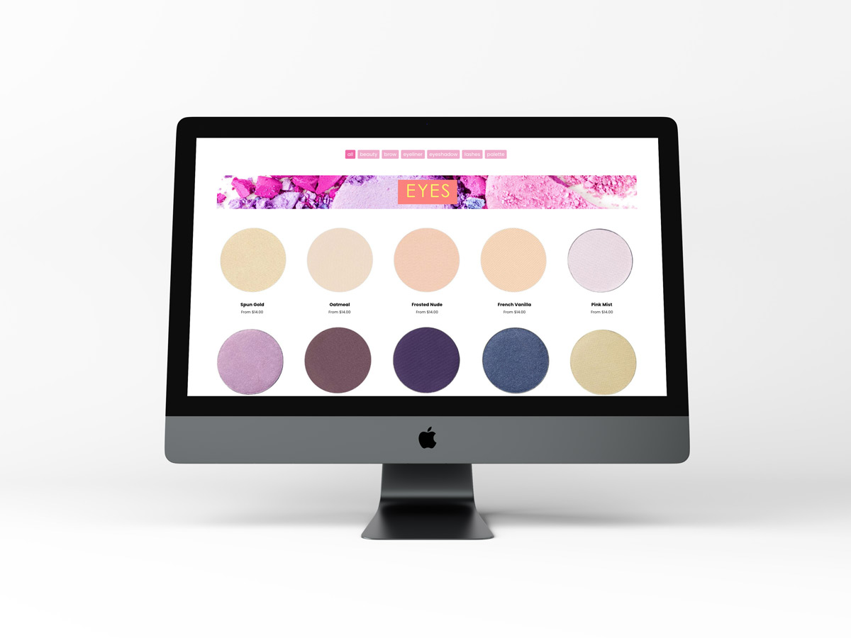 Kirsch Cosmetic Studio website