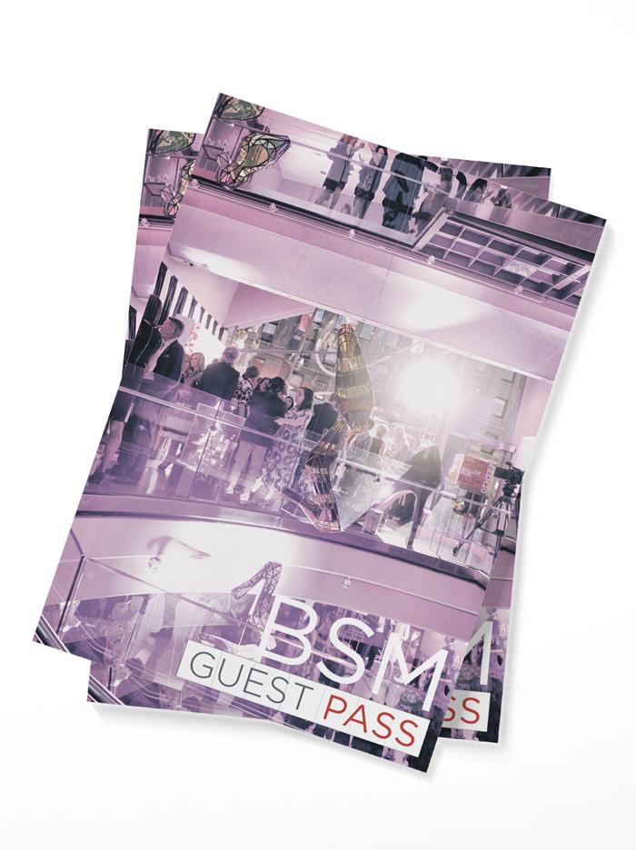 bata postcard print design