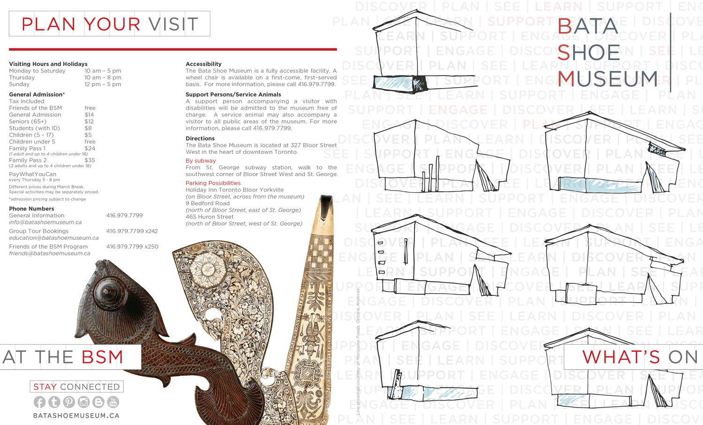 bata brochure print design